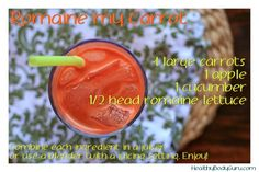 Romaine my Carrot - Weight Loss Juices