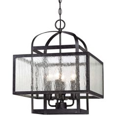 """has matching rectangular one for kitchen island . . .  this is right size 15.5"""" Bridge the Gap Hanging Lantern"""