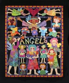 "Mary Lou Weidman's pattern ""Angels"