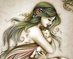 nothing like a child and mothers love.....