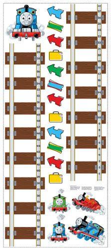 Thomas & Friends Peel & Stick Growth Chart (RMK1126GC)