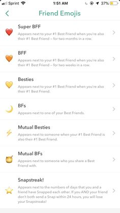 Friends Emoji, Snap Friends, Snapchat Friend Emojis, Best Friends, Cute Snapchat Names, Snapchat Ideas, Instagram And Snapchat, Snap Emojis, Snap Streak