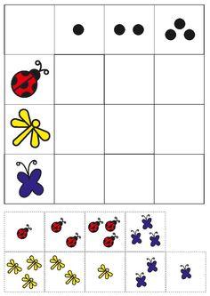 Preschool Puzzles, Preschool Curriculum, Preschool Worksheets, Preschool Activities, Kindergarten, K Crafts, School Posters, Toddler Learning, Numeracy
