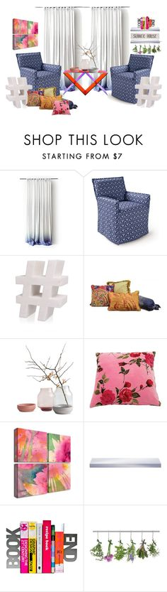 """Untitled #2080"" by kellie-debrandt-mescher ❤ liked on Polyvore featuring interior, interiors, interior design, home, home decor, interior decorating, Serena & Lily, Kelly Wearstler and Pottery Barn"