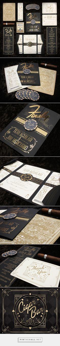 Mercurio Wedding Invitations by Anthony Gregg - created via https://pinthemall.net