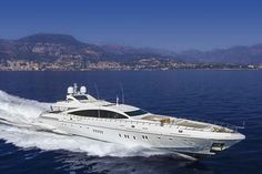 Moonraker is likely the fastest superyacht taking guests this summer in the Bahamas and New England.