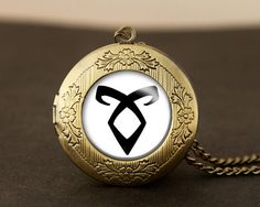 The Mortal Instruments rune locket necklace!