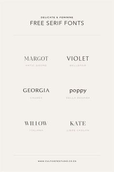 Inspiration Typographie, Logo Inspiration, Handwritten Fonts, Best Serif Fonts, Calligraphy Fonts, Script Fonts, Modern Serif Fonts, Writing Fonts, Monogram Fonts