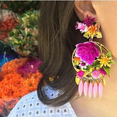 BOHO VIBES! From floral jewellery to gota jewellery to this ! Love how the…