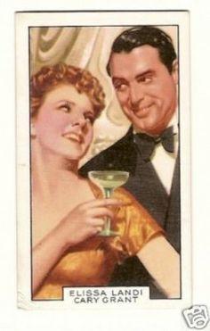 Elissa Landi Cary Grant Vintage Gallaher Tobacco Card | eBay