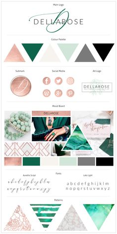 Get the most stunning branding for your online business today. You can use our Canva Templates to create the color palette and branding of your dreams! Portfolio Design, Branding Portfolio, Logo Vert, Site Web Design, Web Design Color, Inspiration Logo Design, Brand Identity Design, Brand Design, Design City