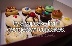 before i die, cupcakes, perfectbucketlist