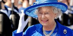 The Queen Wears Sapphire in a Stunning Portrait to Celebrate 65 Years on the Throne