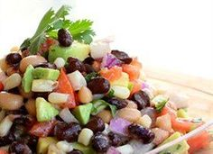 Cowboy Caviar Texas Dip Corn Black Bean Tomato Avocado Cilantro / very good and filling,! Did not have the black eyed pea on hand so i only used one can of black bean and its al right, definitely making this dip again Fruit Recipes, Appetizer Recipes, Vegan Recipes, Appetizers, Cooking Recipes, Cooking Tips, Diet Recipes, Appetizer Ideas, Copycat Recipes