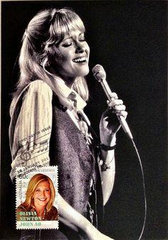 "Olivia Newton-John, Australian music legend in the movie ""Grease"" Good Music, My Music, Amazing Music, Olivia Song, Grease John Travolta, Grease Is The Word, Rock And Roll History, Sandra Dee, Olivia Newton John"