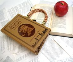 Sherlock Holmes Book PURSE!! I can't choose a favorite, so this one tied with Moby Dick and Little Women...