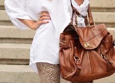 big brown bag.