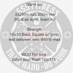 OG 24/48 WOD  Week #1 WOD #4  Lets see how those #wheels feel after all that running. Keeping the percentage low and rest low. Can do this E2MOM but prefer the full 2 min rest.  Yes 100 total squats the day after 100 deadlifts. Use any percentage you want UNDER 65% of your 1RM from the CFT.  #555fitness #firefighterfitness #firefighterstrong #knucklesdown