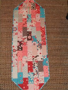 Giddy Quilted Table Runner by GoodMorningBigFluffy on Etsy, $32.00
