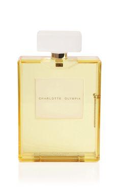 Charlotte Olympia perfume bottle clutch