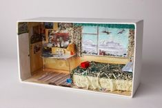 Shoebox bedroom by Grayson Perry for Kids Company.