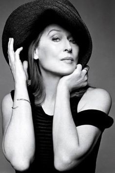 Meryl Streep ~ Equally able to wow audiences in drama, comedy, and musicals, she has come to be considered one of the greatest actresses of our time.