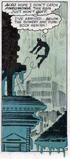 Amazing Spider-Man Annual #14 (1980). Art by Frank Miller; Words by Denny O'Neil.