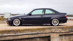 Classy Portuguese Madeiraviolet non-M BMW e36 coupe on OEM BMW Styling 5 (BBS RC) wheels