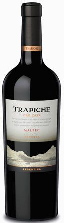 Trapiche Oak Cask Malbec 2010--Awesome (89 points, Wine Advocate). Wine Enthusiast Top 100 Best Buy of 2012. $10
