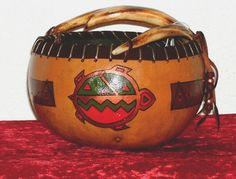 The Artwork of Verna Bates: Cherokee Native American Artist: Gourd Art, Painting, Pottery, Jewelry