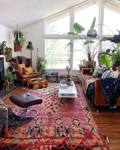 30 Best Sofas to Give Statement for Your Bohemian Home Style - Bohemian Home Living Room Boho Living Room, Home And Living, Living Room Decor, Style At Home, Interior Bohemio, Bohemian Interior Design, Modern Bohemian Decor, Bohemian Apartment Decor, Bohemian House