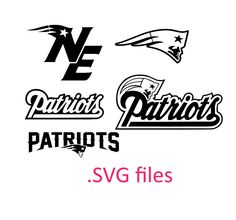 new england patriots SVG files for Silhouette studio and Cricut design space  cutting files instant download download studio3 files