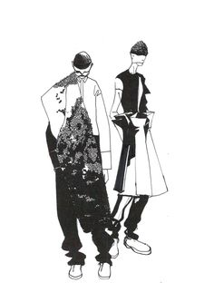 Sci-fi meets Céline: Minki Cheng presents his AW14 collection | Fashion, Graduates | 1 Granary