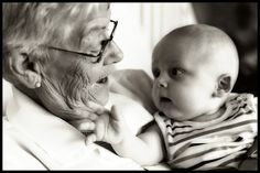 avó e bebê