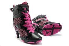 official photos 15fb6 74abb Nike Air Jordan 6 High Heels Stiefel schwarz pink  http   www.nikeschuheonlinekaufen