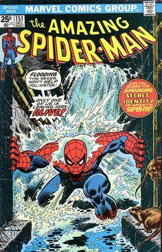 "John Romita Sr - Portada de ""Amazing Spiderman"" Nro 151"