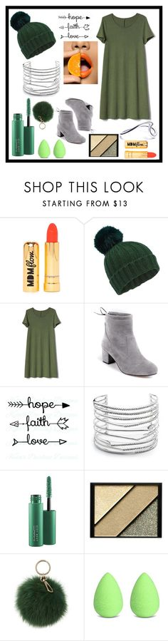 """""""contrast"""" by sunswept ❤ liked on Polyvore featuring Nasty Gal, Miss Selfridge, Gap, Alexis Bittar, MAC Cosmetics, Elizabeth Arden, Coccinelle and beautyblender"""