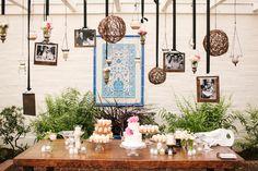 Darlington House cake table decorations