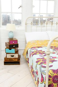Ghana Flower Quilt at Urban Outfitters