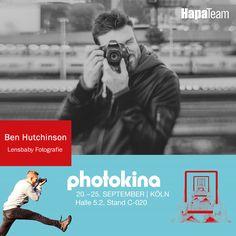 Ben Hutchinson ist ein professioneller #Fotograf und #Lensbaby Repräsentant aus Portland, Oregon, er ist auf die #Modellfotografie und kreative #Porträts spezialisiert.   Bens Arbeiten wurden in zahlreichen nationalen und internationalen Publikationen vorgestellt. Wenn er nicht hinter der Kamera steht, ist Ben Läufer, Leser, und ein Kenner von handwerklich gebrautem Bier ;-)   Ben wird euch auf der #photokina die kultigen Lensbaby Optiken präsentieren.