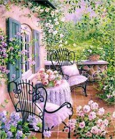 Pastel courtyard (72 pieces)