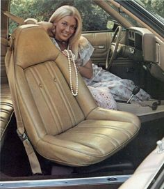 Monte Carlo Swivel Bucket Seats.  Jump in you say?  You betcha!  :-)