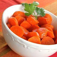 Maple Glazed Carrots - Allrecipes.com. carrots maple sweet side dish