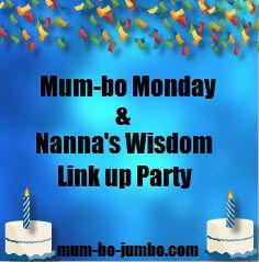 Mum-bo Monday Link Up Party mum-bo-jumbo.com