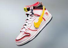 NIKE SB×《機動戰士鋼彈UC》穿著聯名潮鞋的「QMSV 獨角獸鋼彈 Ver.NIKE SB」限定發售 | 玩具人Toy People News
