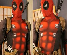 Become the center of attention at the next Comic-Con with your wise-cracking humor while wearing the Deadpool cosplay morphsuit. Made from athletic grade material for a superb fit, it comes with everything you need to turn yourself into everyone's favorite anti-hero.