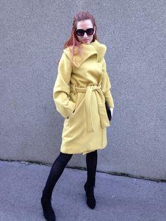 Ivana Bačelić Sajko #Di dizajn Coat, Jackets, Fashion, Down Jackets, Moda, Sewing Coat, Fashion Styles, Peacoats, Fashion Illustrations
