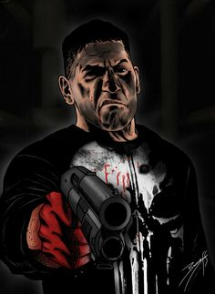 "Frank Castle ""Punisher"" looks pretty angry Marvel Comic Universe, Comics Universe, Marvel Vs, Marvel Dc Comics, Marvel Heroes, Captain Marvel, The Punisher, Punisher Comics, Punisher Netflix"