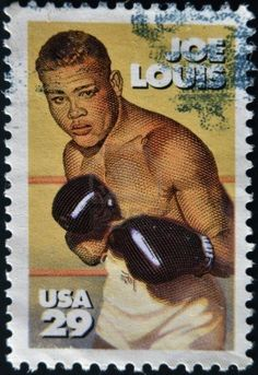 Joe Louis stamp