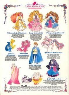 Lady Lockenlicht - Characters